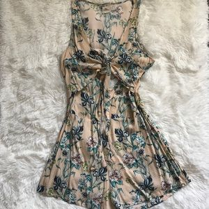 O'Neill Floral Romper